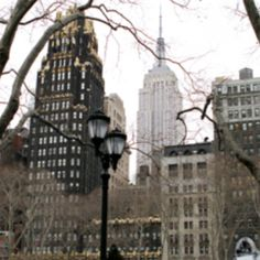 New York City with the Bryant Park hotel .. aka, the hotel i stayed in :)