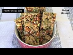 Healthy Energy Bars Recipe, Healthy And Easy Snack , Protein Bar Energy . Healthy Energy Bar Recipes, Healthy Bars, Healthy Protein, Healthy Snacks, Snack Recipes, Eating Healthy, Low Carb Protein Bars, Energy Bars, Nutrition