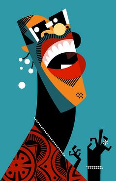 Stevie Wonder by Pablo Lobato graphic design illustration Art And Illustration, Portrait Illustration, Graphic Design Illustration, Graphic Art, Stevie Wonder, Poster Jazz, Arte Pop, Vector Art, Artwork