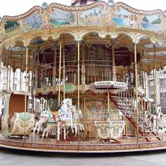 Lovely Carousel in Paris! So enchanting, lovely music, as well! Paris Architecture, Paris Wall Art, Painted Pony, Merry Go Round, Extra Large Wall Art, Carousel Horses, Paris Photography, Girl Nursery, Nursery Room