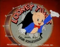 "Growing up, I loved watching Looney Tunes...with Porky Pig coming out of a drum saying ""th-th-th-that's all folks!"""