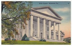 Postcards - United States # 43 - State Capitol, Richmond, Virginia