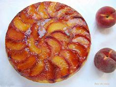 персиковый перевернутый пирог 1