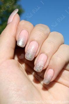 Pink & silver gradient