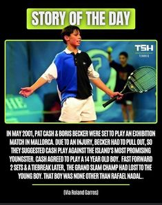 (Reddit) Pat Cash, 14 Year Old, Rafael Nadal, Tennis Players, Old Boys, All About Time, Day, Majorca