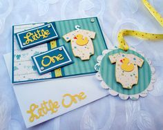 Baby Card and Tag Set Little One.