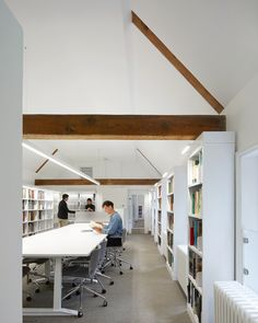 Museum of the Home by Wright & Wright Architects - DesignCurial S Brick, Brick Arch, Museum Cafe, Rooftop Design, Lunch Room, Ground Floor Plan, Library Design, Timber Flooring, Learning Spaces