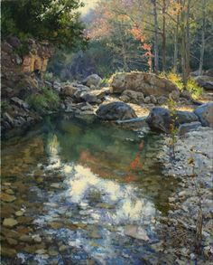 Mark Haworth - Rockbound- Oil - Painting entry - July 2011 | BoldBrush Painting Competition