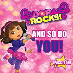 Does your preschooler ROCK like Dora? Tell us why!