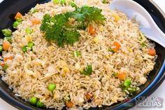 Receita de Arroz frito em receitas de arroz, veja essa e outras receitas aqui!