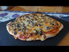 """World's Easiest Pizza Dough… ready to bake in less than 2 hours (no-knead """"hands-free"""" technique) - YouTube"""