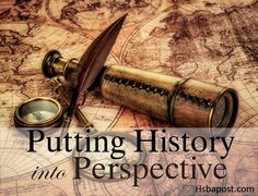 Putting History into a personal perspective using 3 methods.