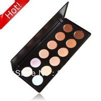 Al por mayor Nueva alta calidad profesional de 12 color Concealer Camouflage Palette Neutro de colores del maquillaje del envío gratis