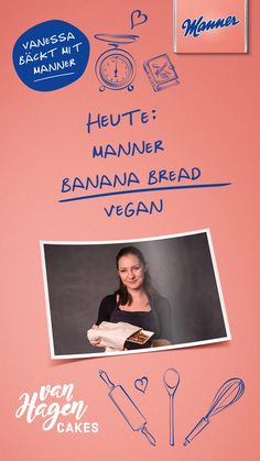 Vegan Cake, Manners, Hagen, Banana Bread, Blog, Recipes, Dessert, Eat, Videos