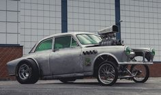 stupid volvo gasser, still, it's a muscle car now