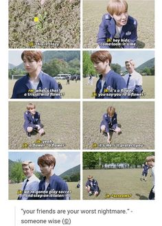 BTS | memes lmao I'm jungkook and my friend is jhope I always ruin her dreams *evil unnie laugh*