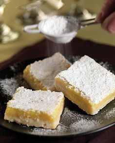 Recipes from The Nest - Lemon Squares