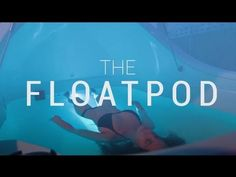 To truly be able to LET GO is the first step to understanding and truly loving yourself I've never truly Let Go and I cant wait to experience this and finally really understand the feeling of LETTING IT ALL GO so I can help myself to then be better able to help others together as One. Introducing The Float Pod