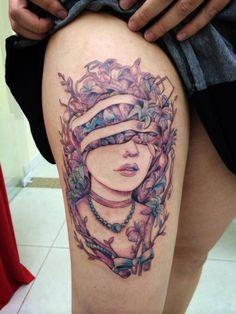 skindeeptales:  Melina Tattoo Brasil #ink #tattoo
