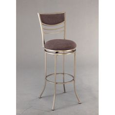 Hillsdale Furniture Amherst 24'' Swivel Counter Stool in Champagne