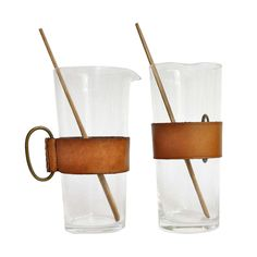 Two Portion Size Martini Stirrers by Carl Auböck | From a unique collection of antique and modern barware at http://www.1stdibs.com/furniture/dining-entertaining/barware/
