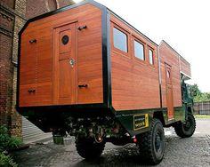 Camper Caravan, Diy Camper, Truck Camper, 4x4 Trucks, Mini Trucks, Expedition Trailer, Expedition Vehicle, Off Road Camping, Camping Car