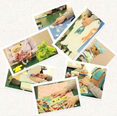 fotky z online kurzu šité hračky