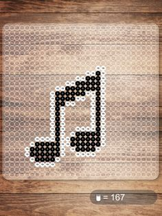 Music NABBI beads pattern