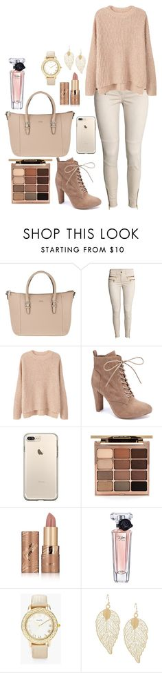 """""""Untitled #556"""" by cutegoth ❤ liked on Polyvore featuring Joop!, H&M, MANGO, Wild Diva, Stila, tarte, Lancôme and Chico's"""