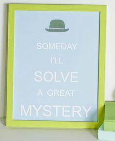 Sherlock Holmes themed birthday party with REALLY CUTE IDEAS via Kara's Party Ideas | KarasPartyIdeas.com #sherlockholmes #littleboyparty #s...