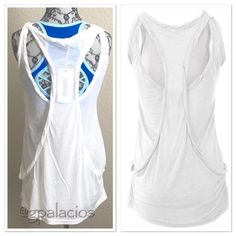 Mock Layered Sleeveless Tank WHITE White! Bundle with the black (currently available in my Closet)! Available in Small, Medium and Large! Price Firm. Bundle to save. Buy this listing and comment on your size. Monoreno Tops Tank Tops