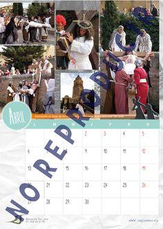 Mes de Abril del Calendario Solidario 2015