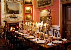 Let's Take A Look Inside Highclere Castle And Current Interiors Extraordinary Highclere Castle Dining Room Inspiration Design