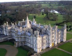 BURGHLEY HOUSE - Burghley was built for Sir William Cecil, later 1st Baron Burghley, who was Lord High Treasurer to Queen Elizabeth I, between 1558 and 1587 and modelled on the privy lodgings of Richmond Palace.