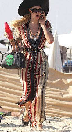 fd5606df7e2 Paris Hilton has been having fun in St. Tropez (Splash News) Paris Hilton