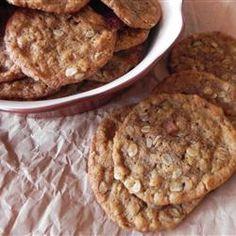 dessertrecipes180.com | Cookies: Cowboy Oatmeal Cookies