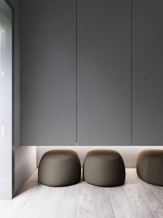 These creative seats are perfectly nestled under the hallway cupboard, they're a creative touch and an innovative place to rest. A Summer Ready Home Perfect For Your Dream Vacation Home Room Design, Home Interior Design, Interior Architecture, House Design, Shoe Cabinet Design, Hallway Cupboards, Casa Milano, Wardrobe Door Designs, Decorating On A Budget
