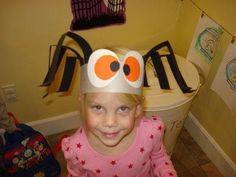 DIY Halloween : DIY Silly Spider Hats : DIY Halloween Decor