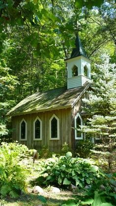 """Little Chapel in the Woods"" in Wisconsin"