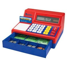 Learning Resources,play cash register,play calulator,#toys,games,play money,solar powered,#kidscashregister,childrens cash register,#countingactivities,#educatioaltoys,