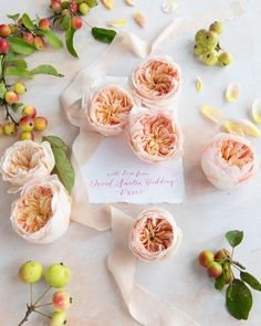 Juliet (Ausjameson) is the most iconic rose from David Austin. Her beautiful cupped shape and unusal peachy hues make her a stand out rose for brides all around the world.