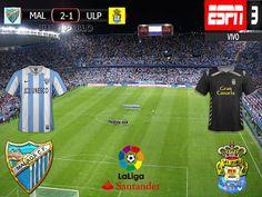 Liga Santander 2016/17 23º Fecha: Malaga 2-1 Las Palmas