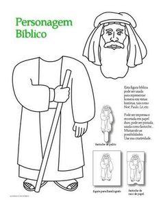 Desenhos Evangélicos para RECORTAR E COLAR. - Aprender e Brincar