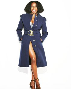 I clean up good. Stephanie Edwards, Me Clean, City Chic, Greys Anatomy, Girl Crushes, Glamour, Shirt Dress, Classic, Instagram Posts