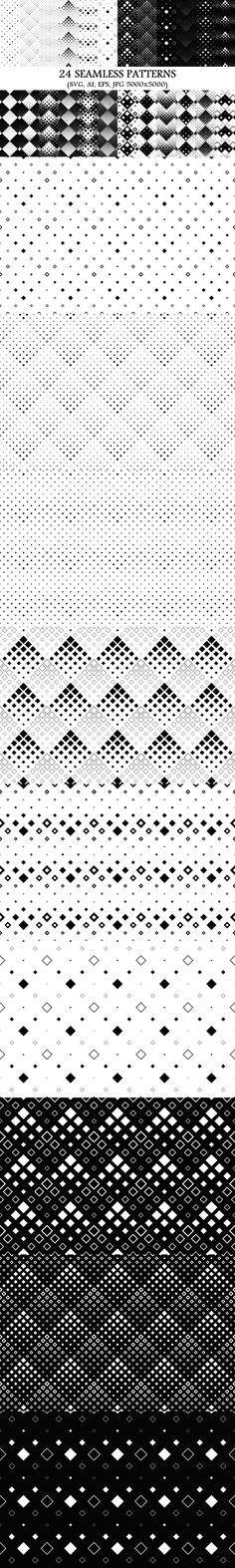 24 Seamless Square Patterns #abstract #PremiumBackground #zydd #squares #patterns #PatternSets #SeamlessPattern #BackgroundCollection #diagonal #geometry #BackgroundGraphic #seamlesspattern #PatternDesign #PremiumVectorGraphics #BackgroundSet #BackgroundSets #GeometricPatterns #seamless #CheapVectorBackgrounds