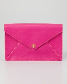 Tory Burch Robinson Envelope Clutch Bag, Large