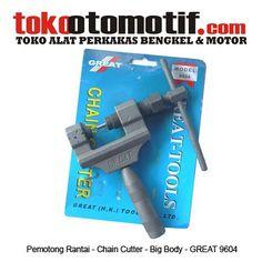 Kode : 12001000105 Nama : Chain Cutter Big Body Merk : GREAT No. Part Produsen : 9604 Status : Siap Berat Kirim : 2 kg