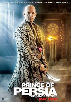 Prince of Persia movie poster with Ben Kingsley