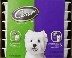 Buy it now Cesar Canine Cuisine Variety Pack (Top Sirloin, Grilled Chicken) for Small Dogs, 3.5-Ounce Trays (Pack of 24)