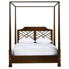 Hayward Bed - Ethan Allen US... This is one of the beds I thought you might like. I can see it with light drapery panels flowing from the side canopy rails
